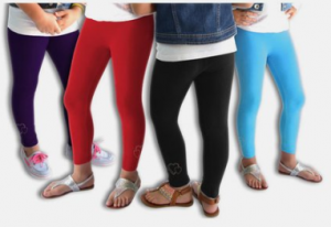 girl leggings 300x206 Girls' Fleece Lined Warm Leggings, 3 Pair for $14.98  Shipped! Less Than $5 Each!