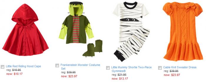 gymboree halloween items