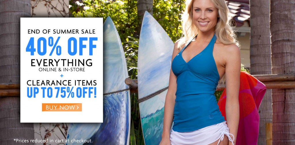 hapari end of summer clearance sale 1024x503 Hapari: 40% Off EVERYTHING + Up to 75% Off Clearance! Tankinis for $14.97!