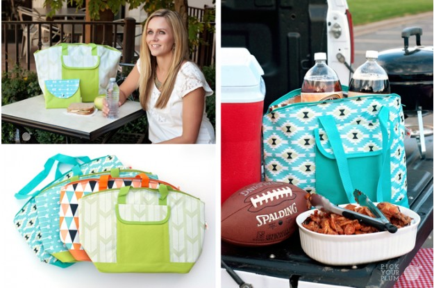 insulated coolers Fun Insulated Coolers for $11.99 & Matching Sandwich Bags for $2.99!