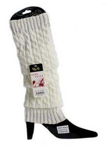 knit crochet leg warmers