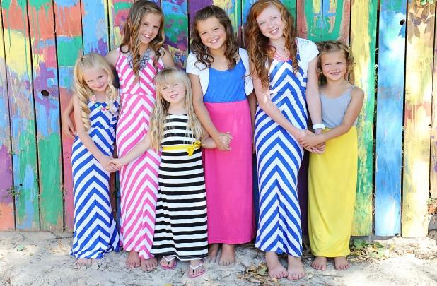 maxi dresses for girls