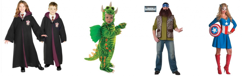 pumpkin buster costumes 1024x334 BuyCostumes Orange Tuesday! 25% Off Costumes TODAY ONLY! Includes Frozen, TMNT, Duck Dynasty, MORE!