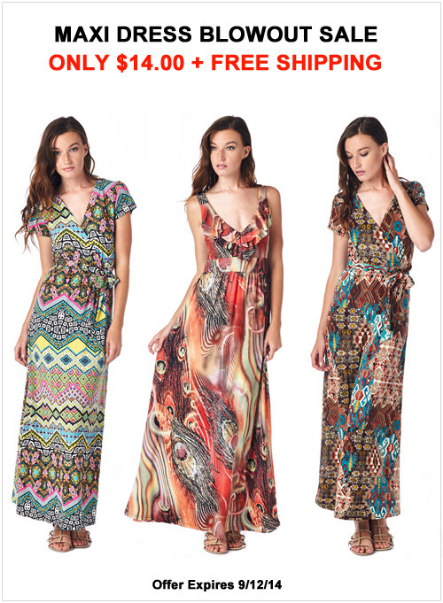 tagunder maxi dresses