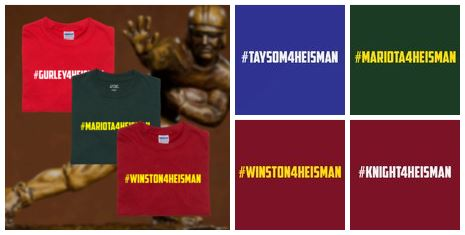 tanga race for the heisman shirts Race for the Heisman Hashtag Shirts for $7.98 Shipped! *10 Options*