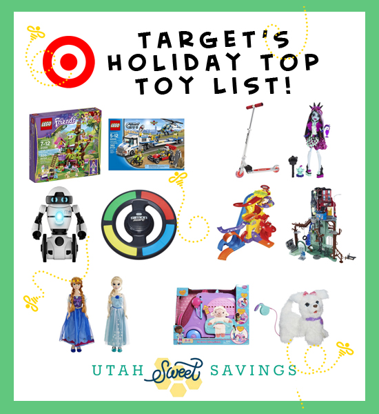 targets tholiday top toy list