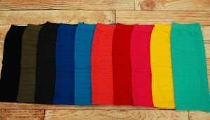 textured pencils skirts colors