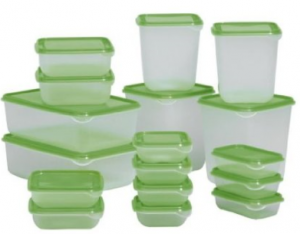 tuperwear 300x234 Ikea Set 17 Food Savers w/ Lids $10.90