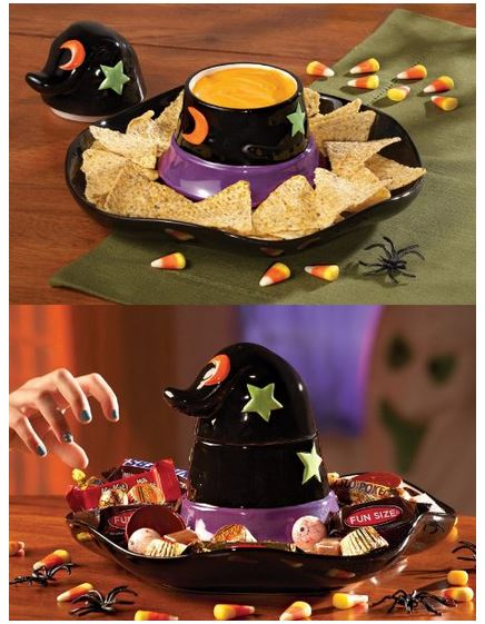 witch hat chip and dip set