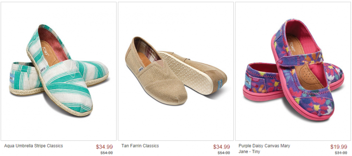zulily toms sale *HOT* TOMS Sale at zulily! Up to 35% Off!