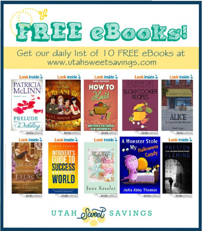 10 free ebooks 10 FREE eBooks! A Monster Stole My Halloween Candy, How to Knit, More!