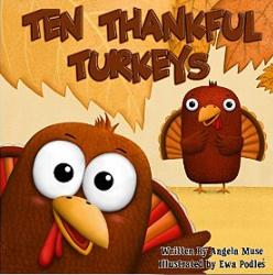 10 thankful turkeys