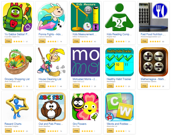 14 free amazon apps 14 Family Friendly Apps for FREE! Motivated Moms, House Cleaning List, Yo Gabba Gabba, MORE!
