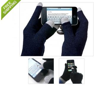 2 pack touchscreen gloves