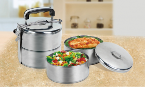 2 tier lunch box 300x180 2 Tier Stainless Steel Lunch Box $8.99 (Reg. $25)