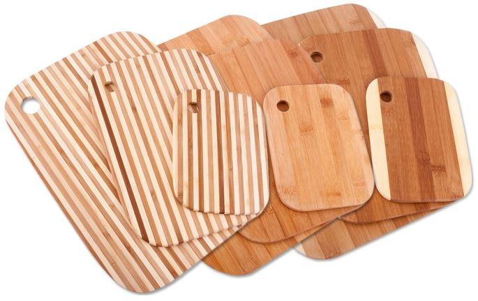 3 Bamboo Cutting Boards