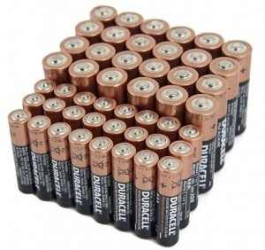 48 Duracell Alkaline Batteries AA and AAA
