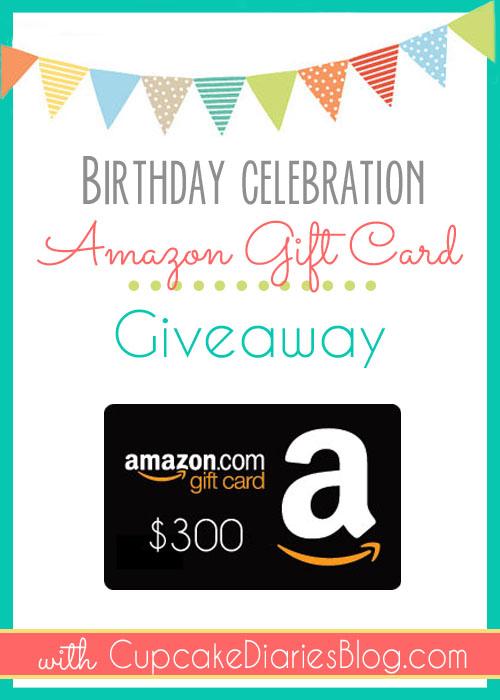 Amazon 300 Giveaway
