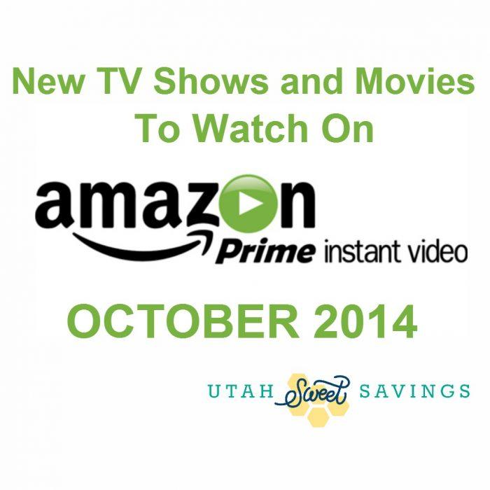 Amazon Prime Instant Video October 2014