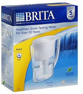 Brita Brita Water Filtration System Pitcher $6.79 (Reg $12.99)