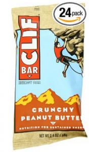 Clif Bar Energy Bar Crunchy Peanut Butter 12 2.4 Ounce Bars Pack of 2 182x300 Clif Bar Energy Bar, Crunchy Peanut Butter for $0.66   $0.78 Each Shipped!