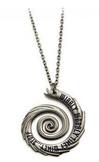 Doctor Who Wibbly Wobbly Timey Wimey Pendant Necklace