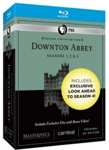 Downton Abbey Seasons 1, 2 & 3 Deluxe Limited Edition (Amazon Exclusive Season 4 Bonus Features)