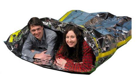 Emergency Survival Mylar Thermal 2 Person Sleeping Bag