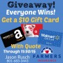 Farmers Insurance Quote Giveaway
