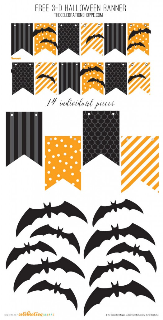 Free-Halloween-Black-Orange-Bat-Banner-Kim-Byers