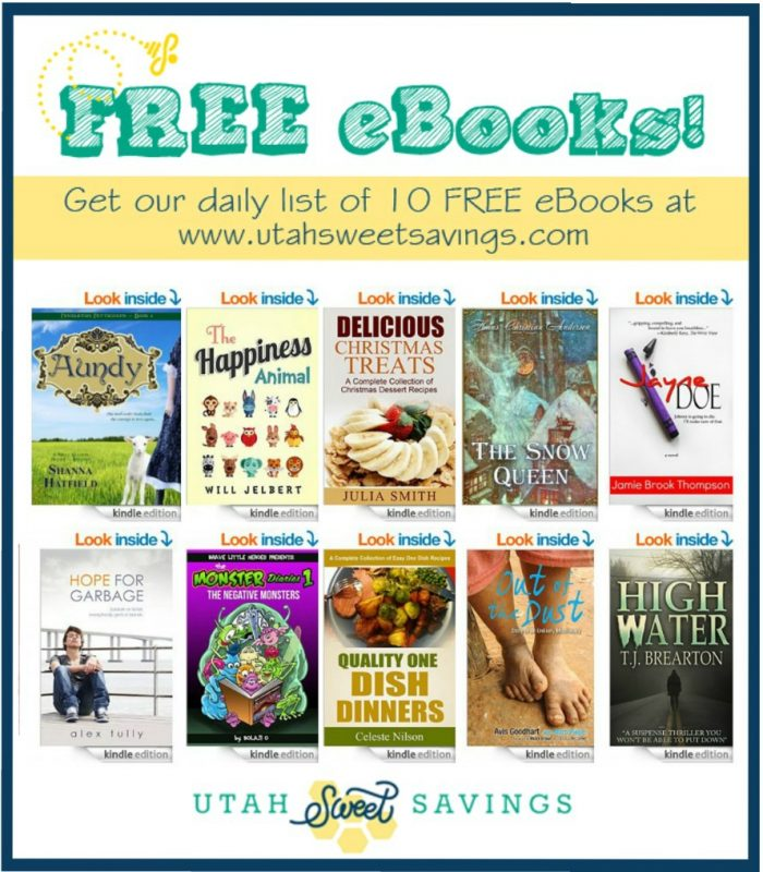 Free eBooks Oct 16 10 Free eBooks!  Delicious Christmas Treats, The Snow Queen, Monster Diaries, and More!