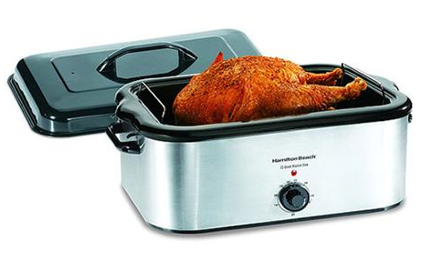 Hamilton Beach 22 Quart Roaster Oven Stainless Steel Hamilton Beach 22 Quart Roaster Oven, Stainless Steel $39.92 (Reg. $69)