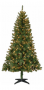 Holiday Time Pre-Lit 6.5' Madison Christmas Tree, Green, Clear Lights