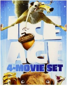 Ice Age 4-Movie Set