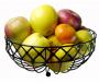 Iron Weave Fruit Basket