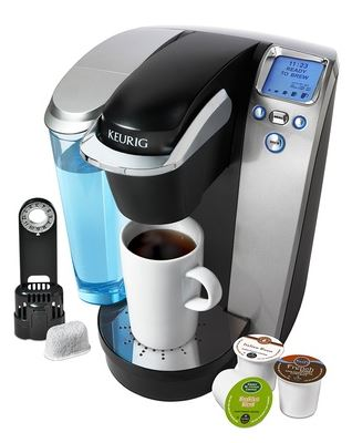 K75 Keurig Platinum Brewer with Bonus Kit K75 Keurig Platinum Brewer with Bonus Kit for $101.99 (Reg $179)