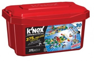 K'NEX 375 Piece Deluxe Building Set