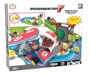 K'NEX Nintendo Mario Kart 7 Piranha Plant Slide Track Set