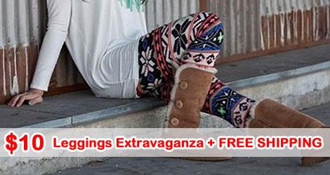 Leggings Extravaganza HUGE Leggings Extravaganza $10 each + Free Shipping!
