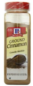 McCormick Ground Cinnamon 18 Ounce 116x300 McCormick Ground Cinnamon, 18 Ounce for $6.50   $7.71 Shipped!