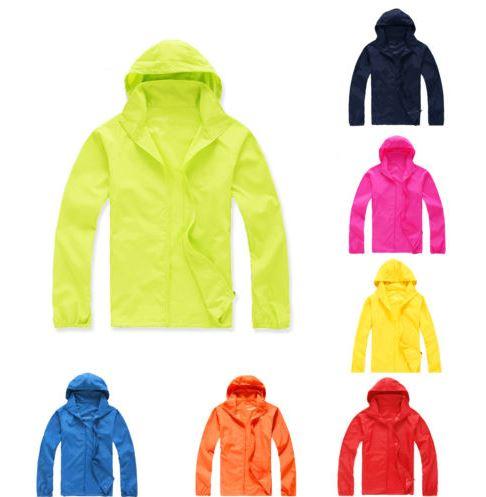 Men Women Waterproof Windproof Jacket
