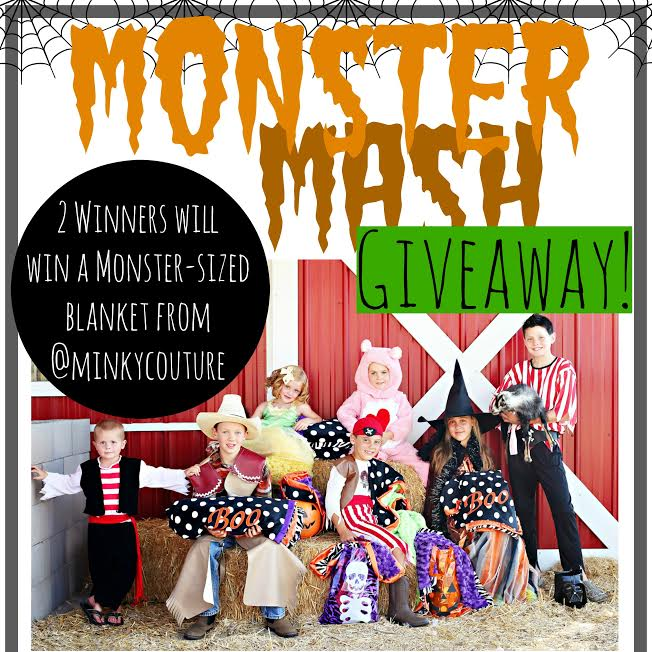 Monster Mash Giveaway Monster Mash Giveaway! Win a Monster Sized Minky Couture Blanket!