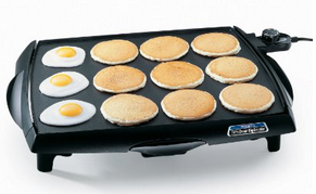 Presto 07046 Tilt n Drain Big Griddle Cool Touch Electric Griddle Presto Tilt n Drain Big Griddle Cool Touch Electric Griddle for $35.99 Shipped (Reg $59.99)!