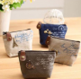 Retro Classic Nostalgic Sackcloth Coin Case Purses