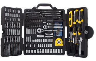 STANLEY STMT73795 Mixed Tool Set 210 Piece STANLEY Mixed Tool Set, 210 Piece for $89.99 (Reg $253)! *Today Only*