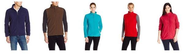 White Sierrea Men's & Women's Mountain Jackets and Vests