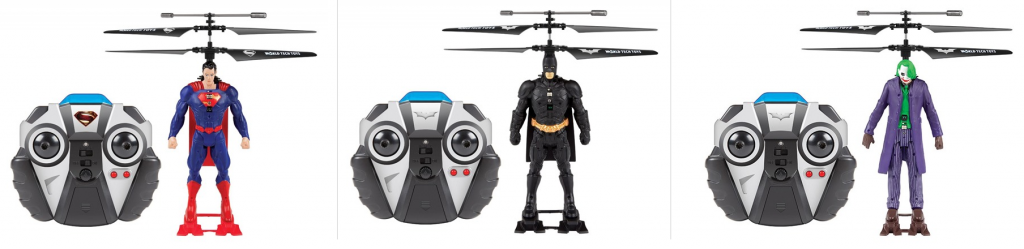 World Tech Toys DC Comic Superheroes 2CH IR Helicopter