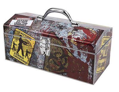 Zombie Art Deco Tool Box 16