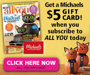 all you halloween michaels gift card deal