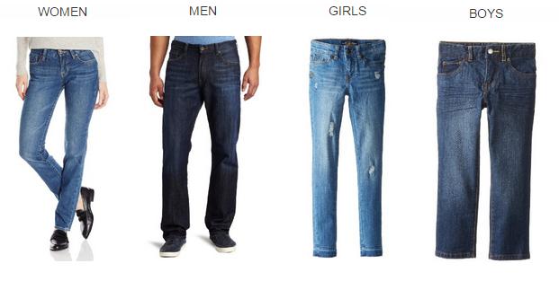 amazon gold box lucky brand denim 50% Off Lucky Brand Denim for Women, Men, & Kids! *Today Only*
